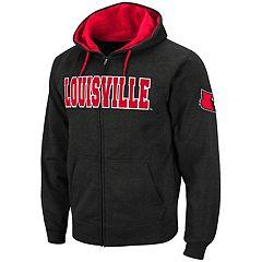Men's Louisville Cardinals Full-Zip Fleece Hoodie