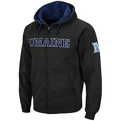 Men's Maine Black Bears Full-Zip Fleece Hoodie