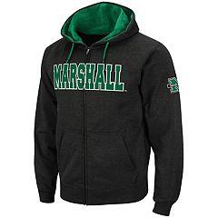 Men's Marshall Thundering Herd Full-Zip Fleece Hoodie