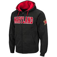 Men's Maryland Terrapins Full-Zip Fleece Hoodie