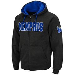 Men's Memphis Tigers Full-Zip Fleece Hoodie