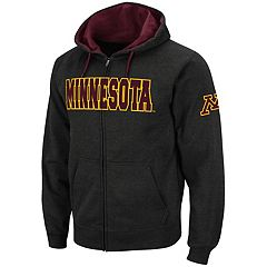 Men's Minnesota Golden Gophers Full-Zip Fleece Hoodie