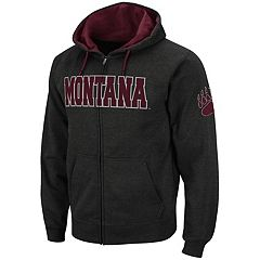 Men's Montana Grizzlies Full-Zip Fleece Hoodie