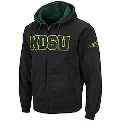 Men's North Dakota State Bison Full-Zip Fleece Hoodie