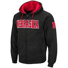Men's Nebraska Cornhuskers Full-Zip Fleece Hoodie