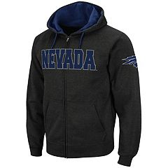 Men's Nevada Wolf Pack Full-Zip Fleece Hoodie