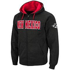 Men's New Mexico Lobos Full-Zip Fleece Hoodie