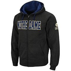 Men's Notre Dame Fighting Irish Full-Zip Fleece Hoodie