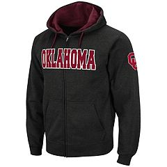 Men's Oklahoma Sooners Full-Zip Fleece Hoodie