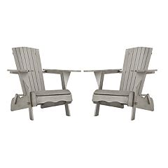 Safavieh Breetel Indoor / Outdoor Adirondack Chair 2-piece Set