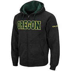 Men's Oregon Ducks Full-Zip Fleece Hoodie