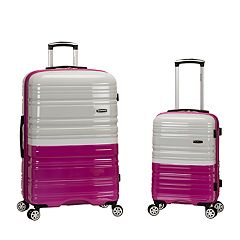 Rockland  Two-Tone 2-Piece Hardside Spinner Luggage Set