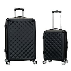 Rockland  Quilt 2-Piece Hardside Spinner Luggage Set