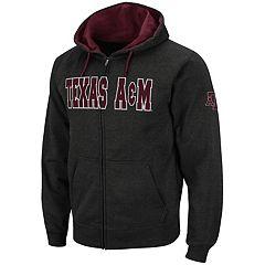 Men's Texas A&M Aggies Full-Zip Fleece Hoodie