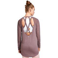 Women's Danskin Strappy Back Tunic