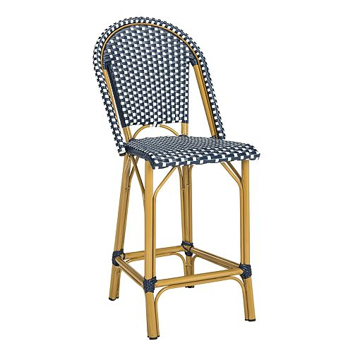 Fabulous Safavieh Gresley Indoor Outdoor Stacking Bistro Counter Stool Theyellowbook Wood Chair Design Ideas Theyellowbookinfo