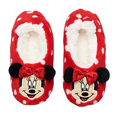 Disney's Minnie Mouse Toddler Girl 3D Slipper Socks