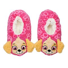 Toddler Girl Paw Patrol Skye 3D Slipper Socks