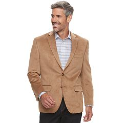 Men's Chaps Slim-Fit Suede Sport Coat