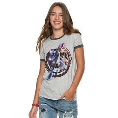 Marvel The Avengers Juniors' Ringer Tee