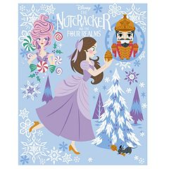 Disney's The Nutcracker and the Four Realms Clara, Sugar Plum Fairy & Nutcracker Throw