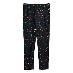Girls 4-12 Jumping Beans® Print Full-Length Leggings