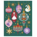Disney?s The Nutcracker and the Four Realms Clara, Ballerina, Sugar Plum Fairy & Nutcracker Throw