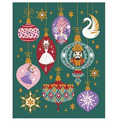 Disney's The Nutcracker and the Four Realms Clara, Ballerina, Sugar Plum Fairy & Nutcracker Throw