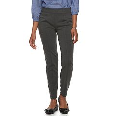 Women's Croft & Barrow® Easy Care Straight-Leg Ponte Pants