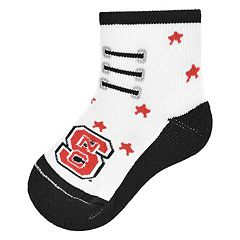 Baby Mojo North Carolina State Wolfpack Game Socks