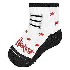 Baby Mojo Nebraska Cornhuskers Game Socks