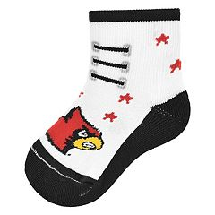 Baby Mojo Louisville Cardinals Game Socks