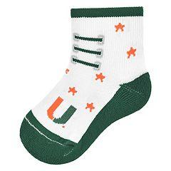 Baby Mojo Miami Hurricanes Game Socks