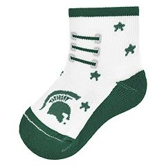 Baby Mojo Michigan State Spartans Game Socks