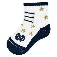 Baby Mojo Notre Dame Fighting Irish Game Socks