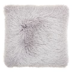 Mina Victory Yarn Shimmer Shag I Throw Pillow