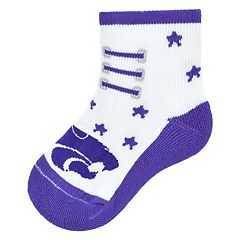 Baby Mojo Kansas State Wildcats Game Socks
