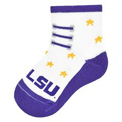 Baby Mojo LSU Tigers Game Socks