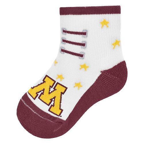 Baby Mojo Minnesota Golden Gophers Game Socks