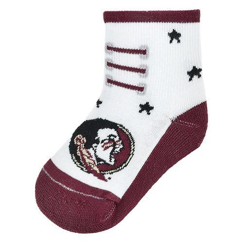 Baby Mojo Florida State Seminoles Game Socks