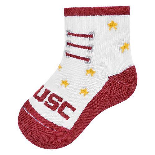 Baby Mojo USC Trojans Game Socks