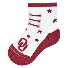 Baby Mojo Oklahoma Sooners Game Socks