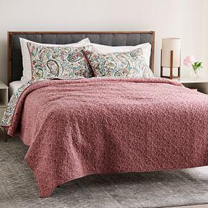 Croft & Barrow Sarah Reversible Cotton Quilt or Sham