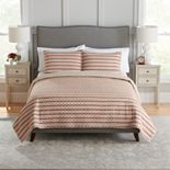 Croft & Barrow® Sarah Reversible Cotton Quilt or Sham