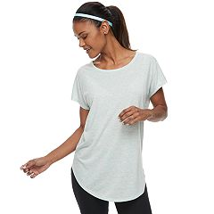 Women's Tek Gear® Open Back Short Sleeve Tee