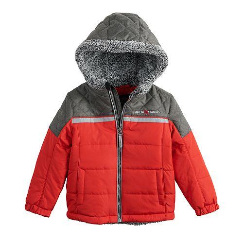 71f862367 Toddler Boy ZeroXposur Mason Quilted Midweight Jacket