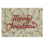 St. Nicholas Square® Merry Christmas Accent Rug