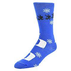 Men's Mojo Duke Blue Devils Santa's on His Way Crew Socks