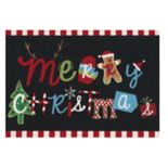 St. Nicholas Square® Merry Christmas Novelty Accent Rug - 20'' x 30''