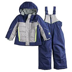 Toddler Boy ZeroXposur Bryce Reflective Heavyweight Jacket & Bib Snow Pants Set